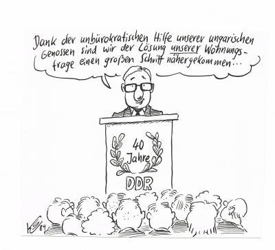 Klaus Stuttmann 40 Jahre DDR 1989
