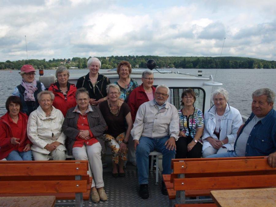 Foto der Galerie: Senioren aus der Ketziner Partnergemeinde zu Besuch