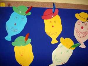Foto der Galerie: Arbeiten der Kindergartenkinder Wichtelwald 3 bis 6 Jahre