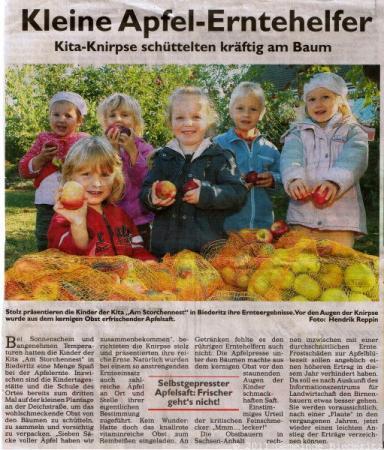Foto der Galerie: KITA - Am Storchennest - Presse
