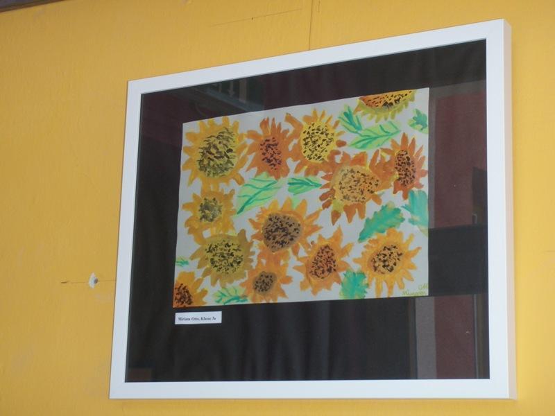 Foto der Galerie: Eine Auswahl von Arbeiten unserer Schülerinnen und Schüler aus dem Kunstunterricht.