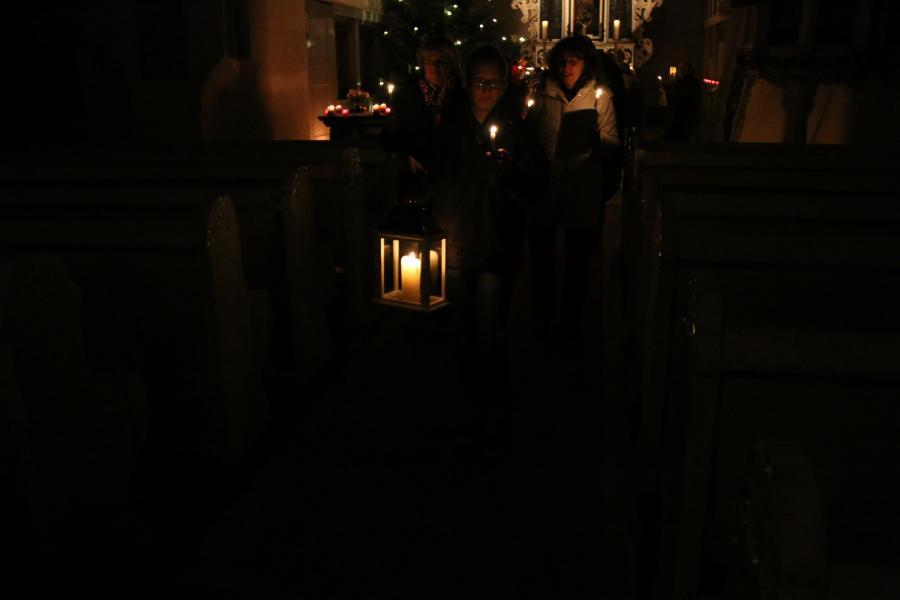 Foto der Galerie: Familienkirche am 13.12.2014 in Kremmen
