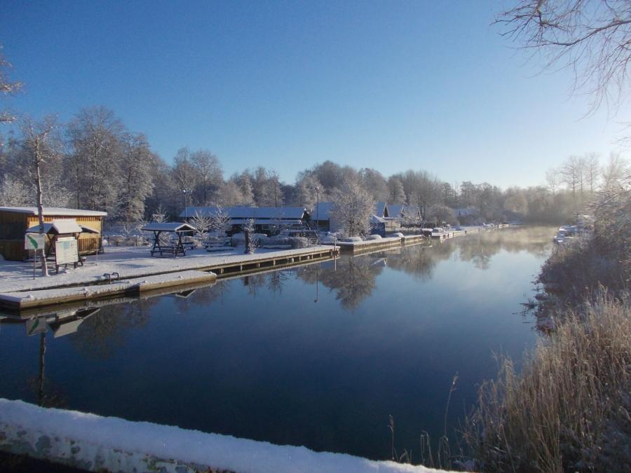Foto der Galerie: Winter in der Vogelparkregion Recknitztal - Das Recknitztal im Winter