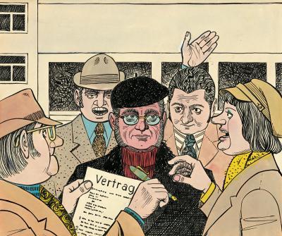 Karikatur Heinz Behling