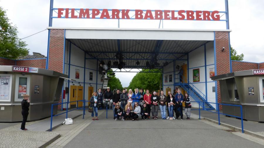 Foto der Galerie: Kl.8 Exkursion zum Filmpark Babelsberg