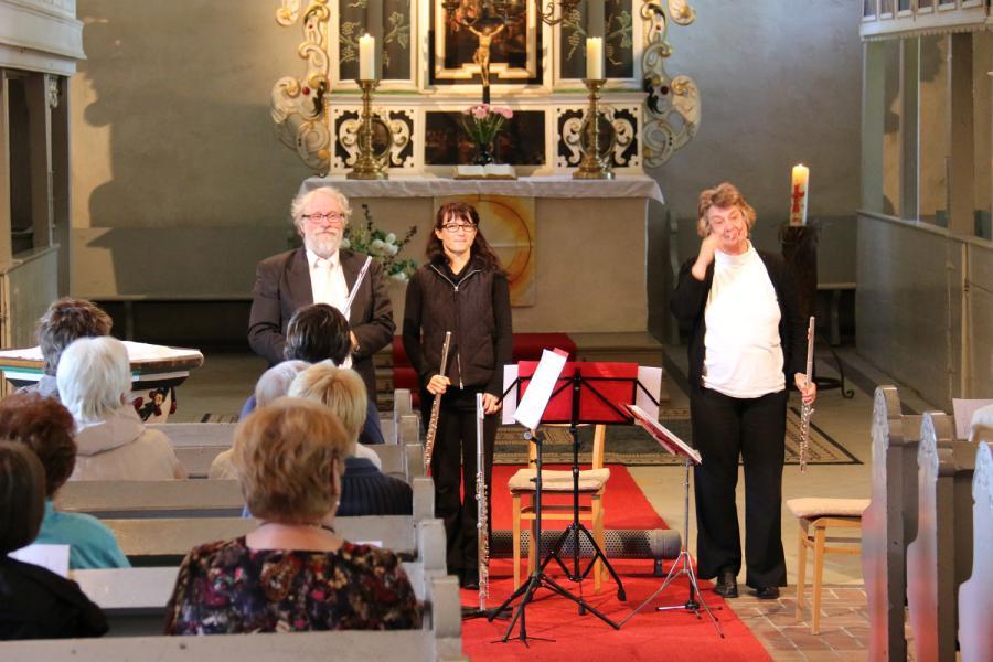 """Foto der Galerie: Konzert mit dem """"Trio giocoso"""" am 31. Mai 2015 in Kremmen"""