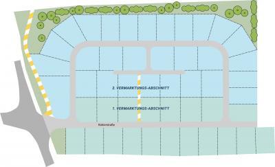 Lageplan Baugebiet