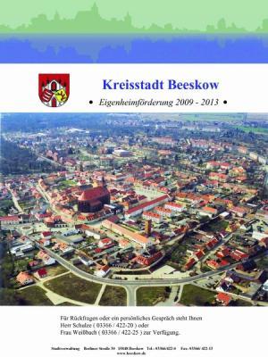 Eigenheimförderung Stadt Beeskow