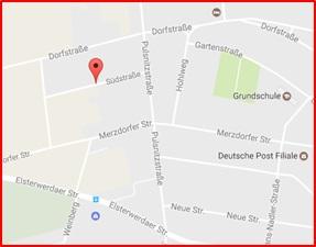 Karte Gröden Südstraße