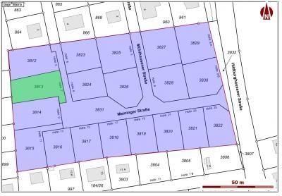 Lageplan Meininger Straße 7