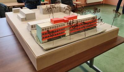 Modell Wohnprojekt Uebigau