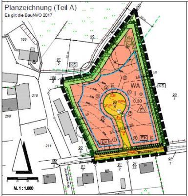 B-Plan Nr. 11 der Gemeinde Selk, östlicher Moorredder