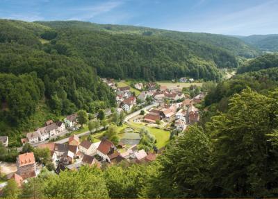 Blick über den Ortsteil Hirschbach, Bildrechte: Jürgen Zuber