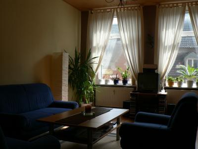 Wohnzimmer früher