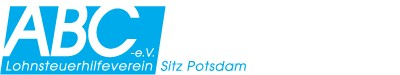 Logo von ABC e.V. Lohnsteuerhilfeverein Potsdam