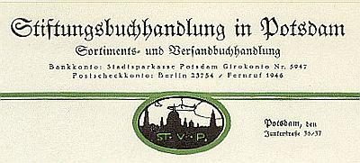 Logo von Stiftungsbuchhandlung Potsdam