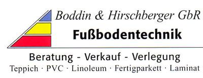 Logo von Boddin und Hirschberger GbR Fußbodentechnik