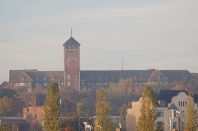 Das Gebäude des Brandenburger Landtags auf dem Brauhausberg.