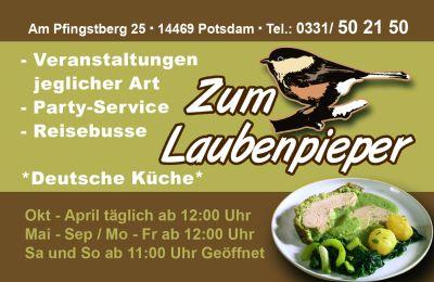 Logo von Zum Laubenpieper