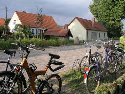 Dorfanger mit Backofen und Heimatstube