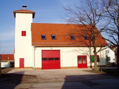 Gerätehaus Ortsteil Friedersdorf