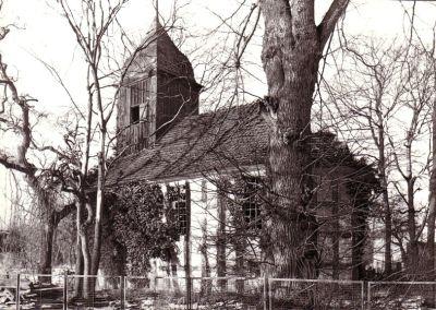 Kirche in Blankenberg, historische Aufnahme um 1930