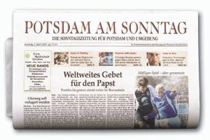 Logo von Potsdam am Sonntag (PamS) Potsdamer Zeitungsverlagsgesellschaft mbH & Co. KG