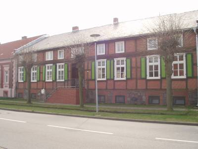 saniertes Bauernhaus in der Lindenallee