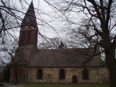 Kirche im Ortsteil Dannenwalde