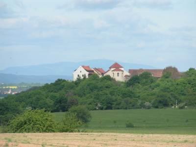 Blick zur Konradsburg von Endorf aus