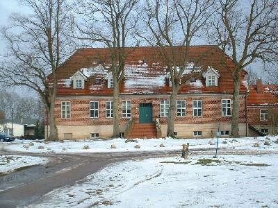 Ehemaliges Gutshaus im Ortsteil Leisten