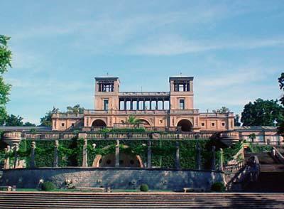 Die Orangerie im Park Sanssouci.