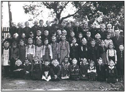 alte Schulklasse