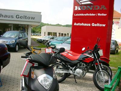 Logo von Autohaus Geltow (Honda-Motorroller /-Leichtkrafträder)