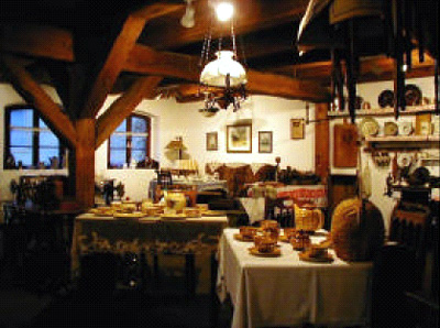 liebevoll eingerichtete Ausstellungsräume im Kornhaus