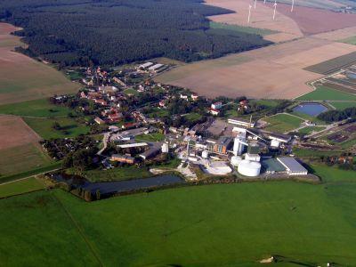 Luftaufnahme Ortsteil Brottewitz