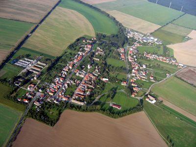 Luftaufnahme Ortsteil Fichtenberg