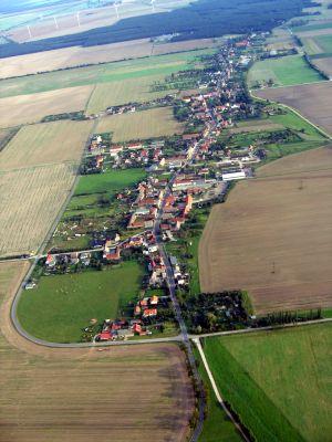 Luftaufnahme Ortsteil Koßdorf