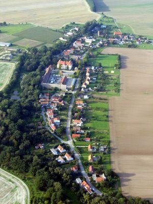 Luftaufnahme Ortsteil Martinskirchen