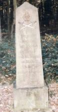 Sandstein-Denkmal zum 350-jährigen Gedenktag der Schlacht