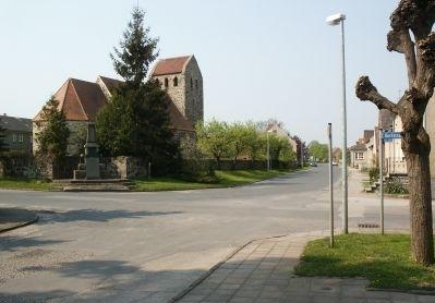 Dorfstraße in Mörz