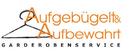 Logo von Aufgebügelt & Aufbewahrt Garderobenservice