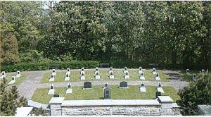 Soldatengräber der Roten Armee