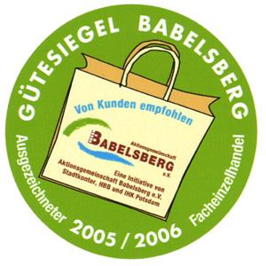 Logo von Gütesiegel Babelsberg