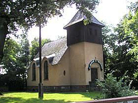 Die Falkenberger Kapelle wurde 1914 im Spätjugendstil erbaut.
