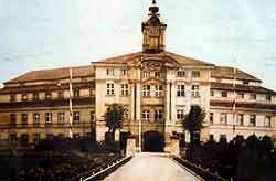 Das herzogliche Schloss um 1940