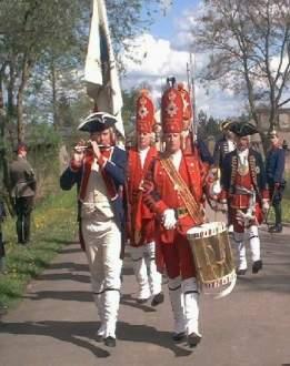 Die langen Kerle im Fort Gorgast