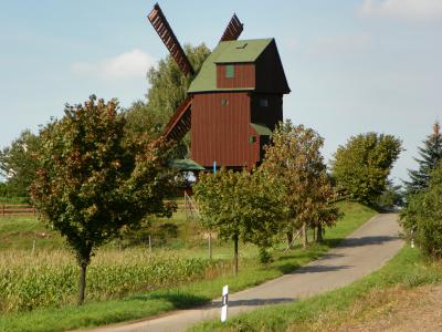 Bockwindmühle in Kobershain