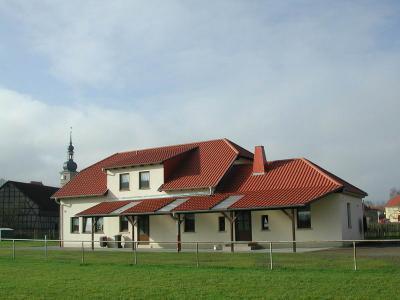 Das Sportheim von Neubrunn