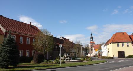 Wahrenbrück Stadtzentrum (Foto A.Claus)